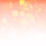 Fond orange lumineux Image libre de droits