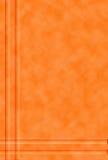 Fond orange modelé Image libre de droits