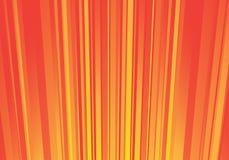 Fond orange rayé Photographie stock libre de droits