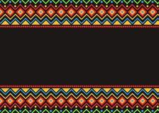 Fond orienté de culture mexicaine illustration de vecteur