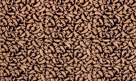 Fond oriental de détail de tissu Photographie stock