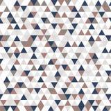 Fond original des triangles avec la couleur rose, grise, bleue et blanche illustration libre de droits