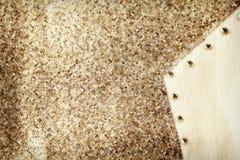 Fond ornemental beige grunge de texture Image stock
