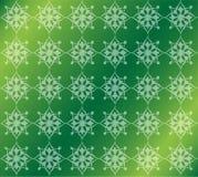 Fond ornemental de luxe floral vert de modèle Photos libres de droits