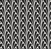 Fond ornemental japonais de vecteur Art Deco Floral Seamless Pattern Texture décorative géométrique Image libre de droits