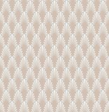 Fond ornemental japonais de vecteur Art Deco Floral Seamless Pattern Texture décorative géométrique illustration stock