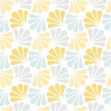 Fond ornemental japonais de vecteur Art Deco Floral Seamless Pattern Texture décorative géométrique illustration de vecteur