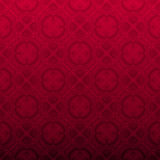 Fond ornemental rouge sans joint Images stock