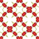 Fond ou modèle géométrique abstrait sans couture Images stock
