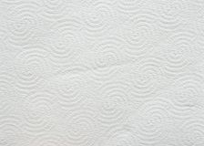 Fond ou texture blanc de papier hygiénique Photos libres de droits