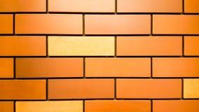 Fond ou texture de mur de briques orange de cru illustration stock