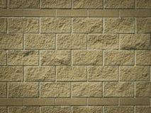 Fond ou texture de mur de peinture de brique de brun foncé Image libre de droits