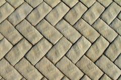 Fond ou texture diagonal concret gris de carrelage de route photo stock
