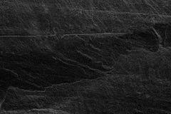 Fond ou texture noir gris-foncé d'ardoise Images stock
