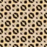 Fond ou texture sans couture abstrait basée sur la fourrure de léopard Photo libre de droits