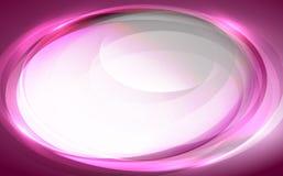 Fond ovale pourpré Photos libres de droits