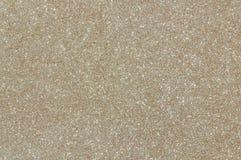 Fond pâle de texture de scintillement d'or Photographie stock libre de droits