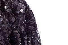 Fond - paillettes brodées par tissu de fête de concepteur de texture, perles images stock