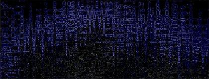 Fond panoramique dans bleu, noir, gris couleurs illustration libre de droits