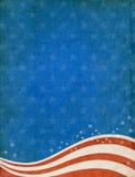 Fond patriotique Photo libre de droits