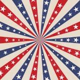 Fond patriotique de Jour de la D?claration d'Ind?pendance am?ricain illustration stock