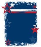 Fond patriotique de vecteur Images libres de droits