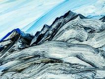 Fond peint à la main abstrait créatif, papier peint, texture, c Photos libres de droits