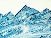 Fond peint à la main abstrait créatif, papier peint, texture, c Photos stock