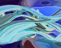 Fond peint à la main abstrait créatif, papier peint, texture, c Photographie stock