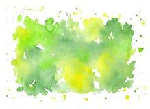 Fond peint à la main d'abrégé sur aquarelle de vecteur Images stock