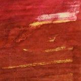 Fond peint à la main d'arts d'aquarelle Images libres de droits