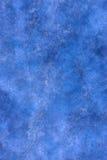 Fond peint abstrait bleu Photos libres de droits