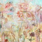 Fond peint artistique affligé sale de collage Image stock