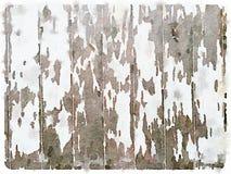 Fond peint en bois blanc de DW Photos stock