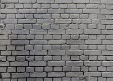 Fond peint gris industriel grunge de mur de briques à Kiev, Ukraine images stock