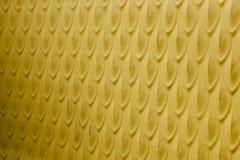 Fond peint jaune abstrait Photo libre de droits
