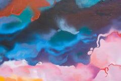 Fond peint par abstrait Images stock