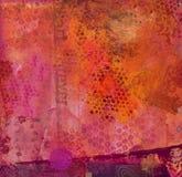 Fond peint par abstrait Images libres de droits