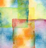 Fond peint par aquarelle abstraite illustration de vecteur