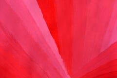 Fond peint par aquarelle rose rouge Images stock