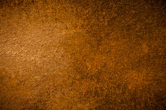 Fond peint par Brown chaud Images libres de droits
