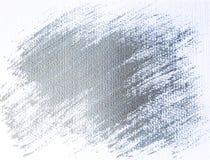 Fond peint par grunge argenté Photographie stock