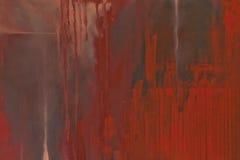Fond peint par rouge texturisé grunge Images libres de droits
