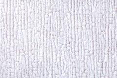 Fond pelucheux blanc de tissu mou et laineux Texture de plan rapproché de textile photo stock