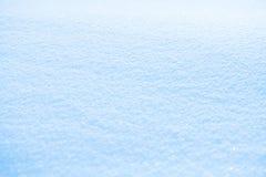 Fond pertinent de neige de bleu de ciel photo stock
