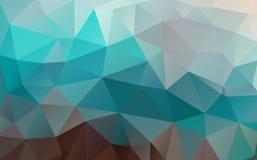 Fond plat de triangle Formes géométriques Configuration de mosaïque colorée illustration de vecteur