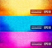 Fond plat simple de gradient Images stock