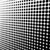 Fond pointillé Photographie stock libre de droits