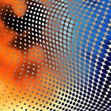 Fond pointillé par abstrait Images stock