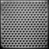 Fond pointillé par acier en métal Images stock